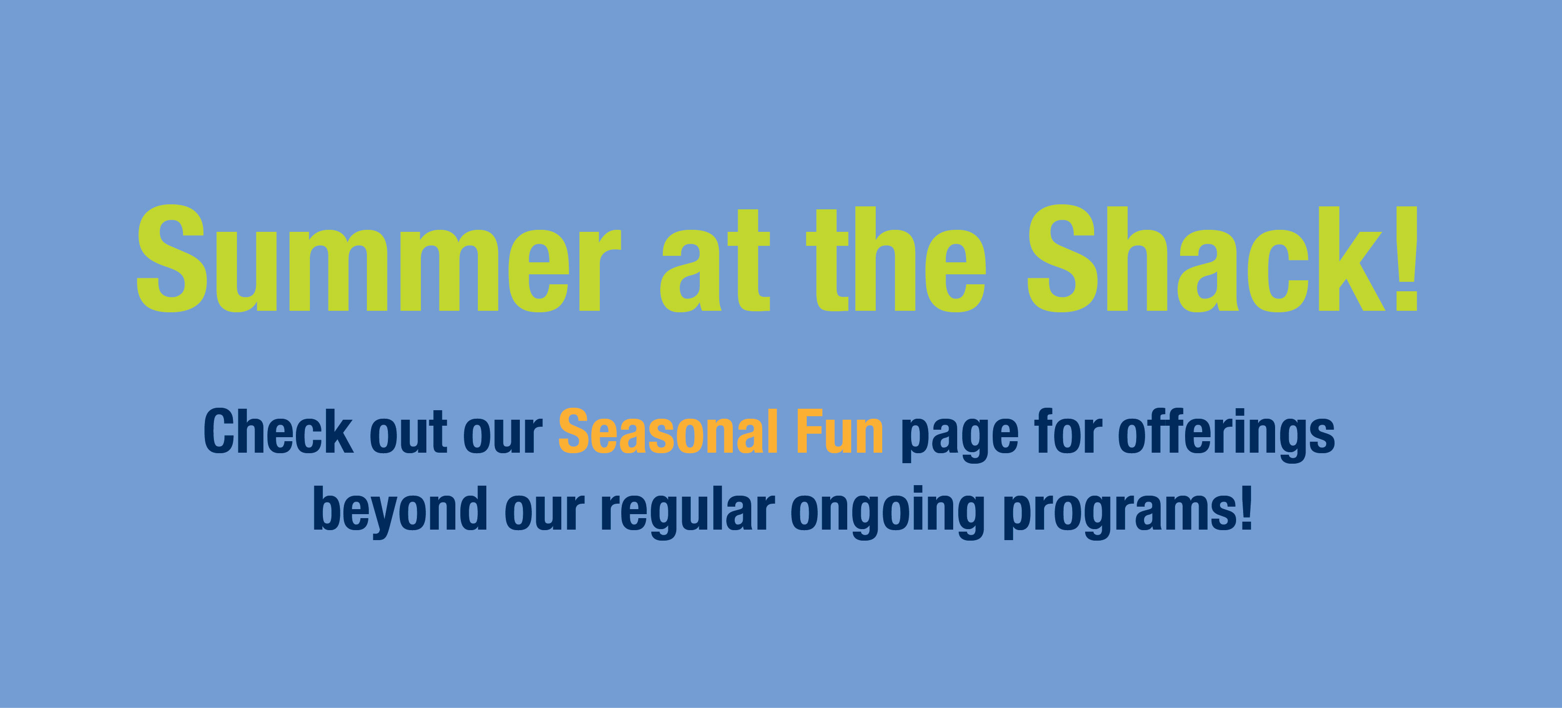Summer Home Page Slide